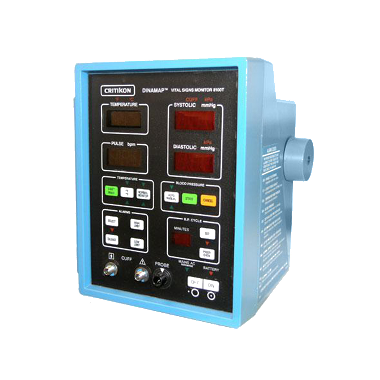 Critikon Dinamap 8100 / 8100T NIBP Monitor