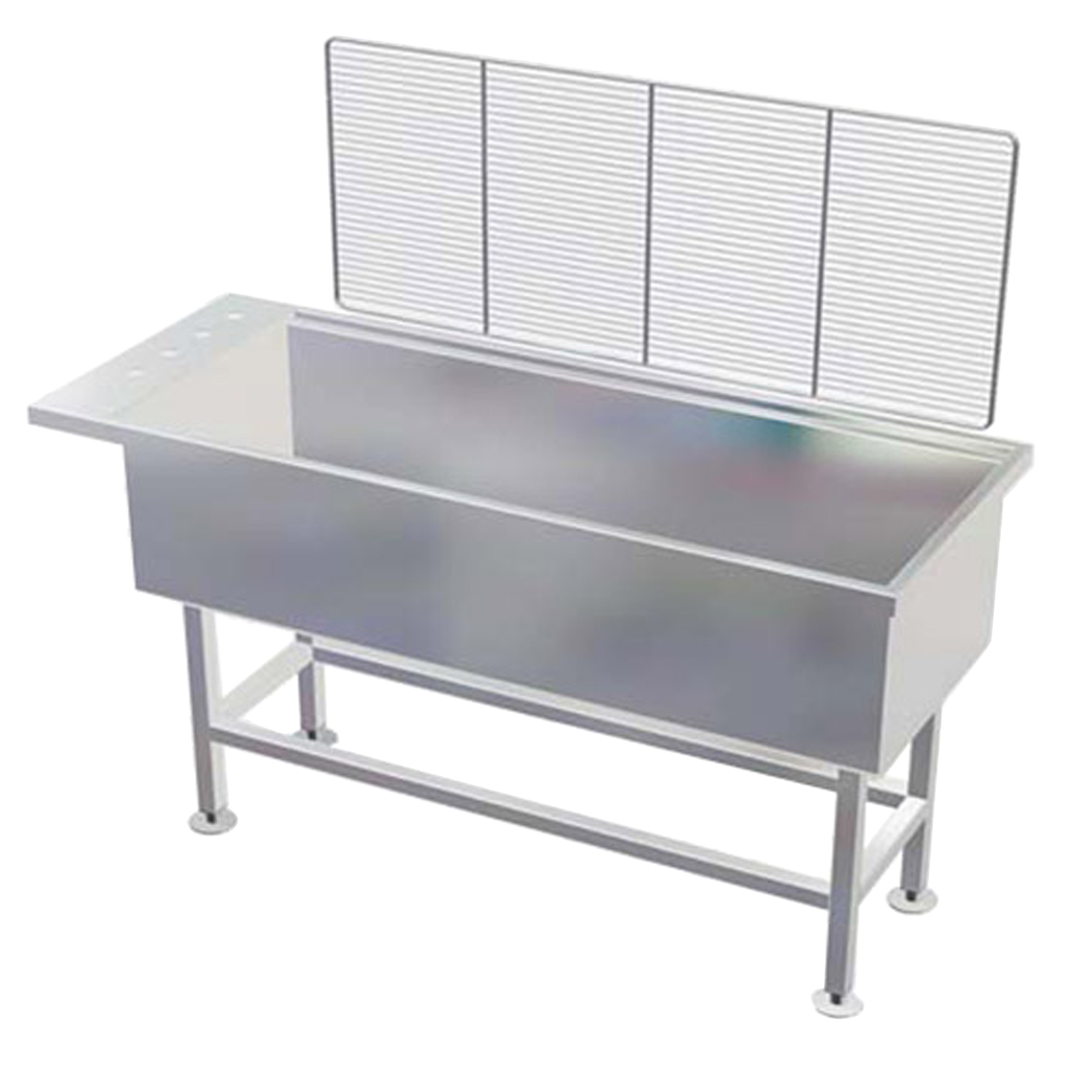 "Avante Stainless Steel 15"" Deep Wet Table"