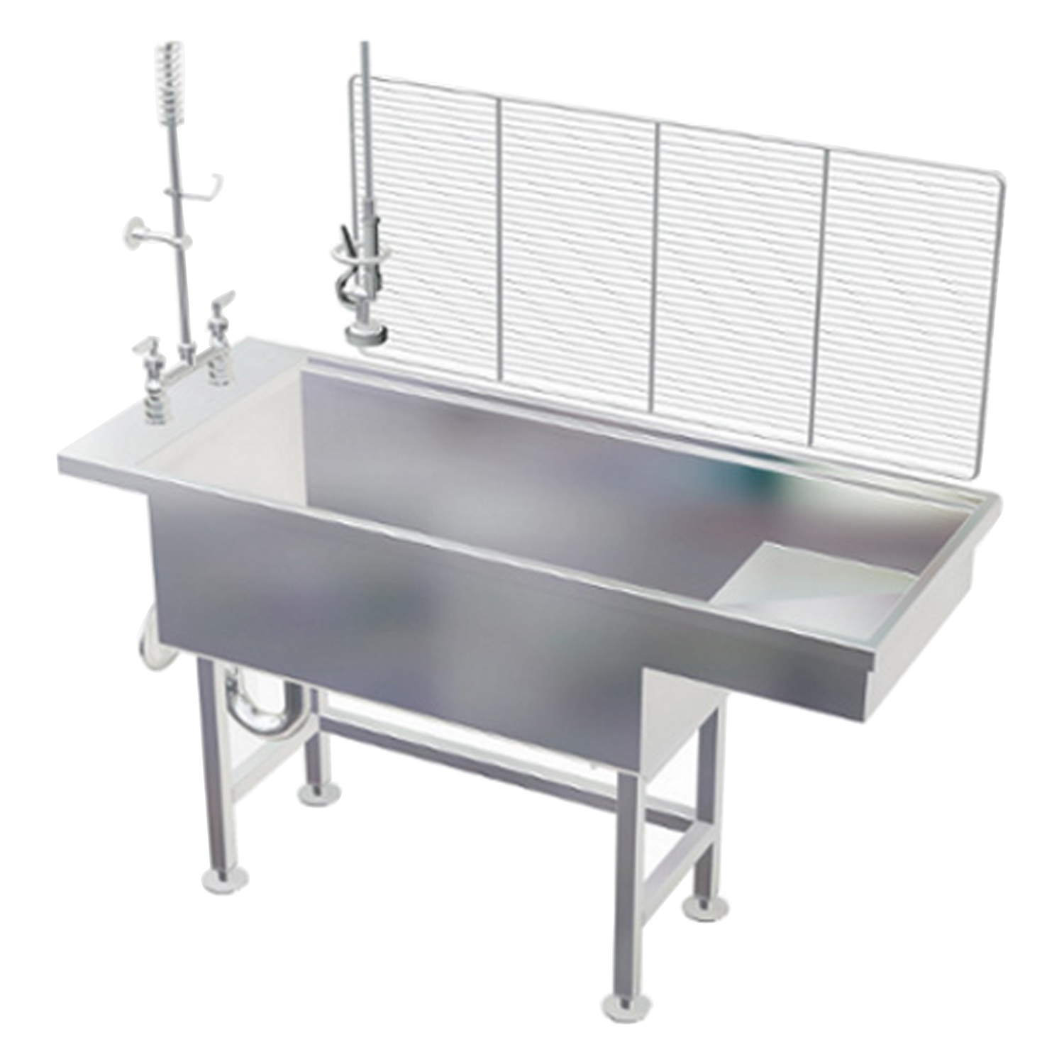 Avante Stainless Steel Economy Bi-Level Wet Table