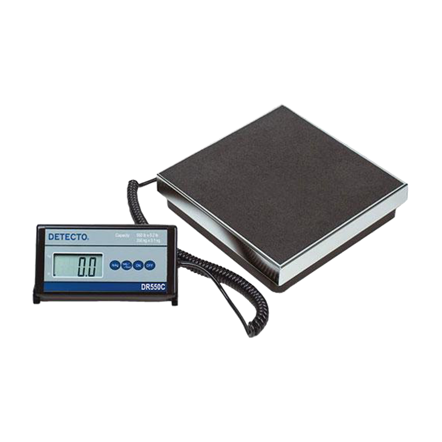 Detecto DR550C - Stainless Steel Floor Scale