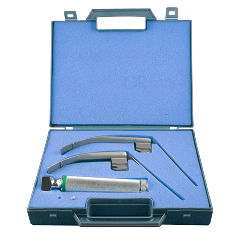 Sun-Med Sun-Flex Fiber Optic Miller Profile Laryngoscope Set