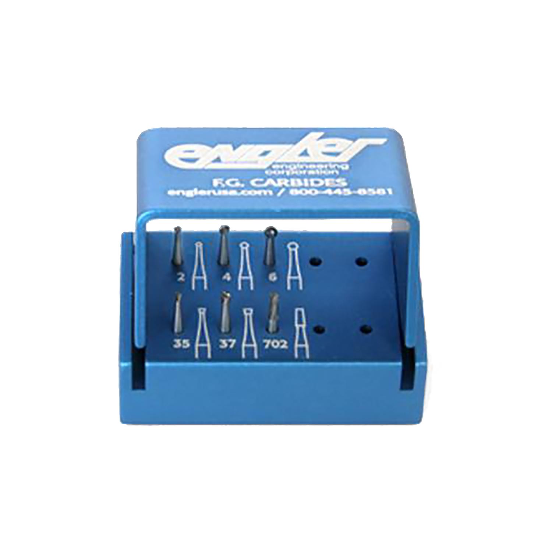 Friction Grip Carbide Burr Kit