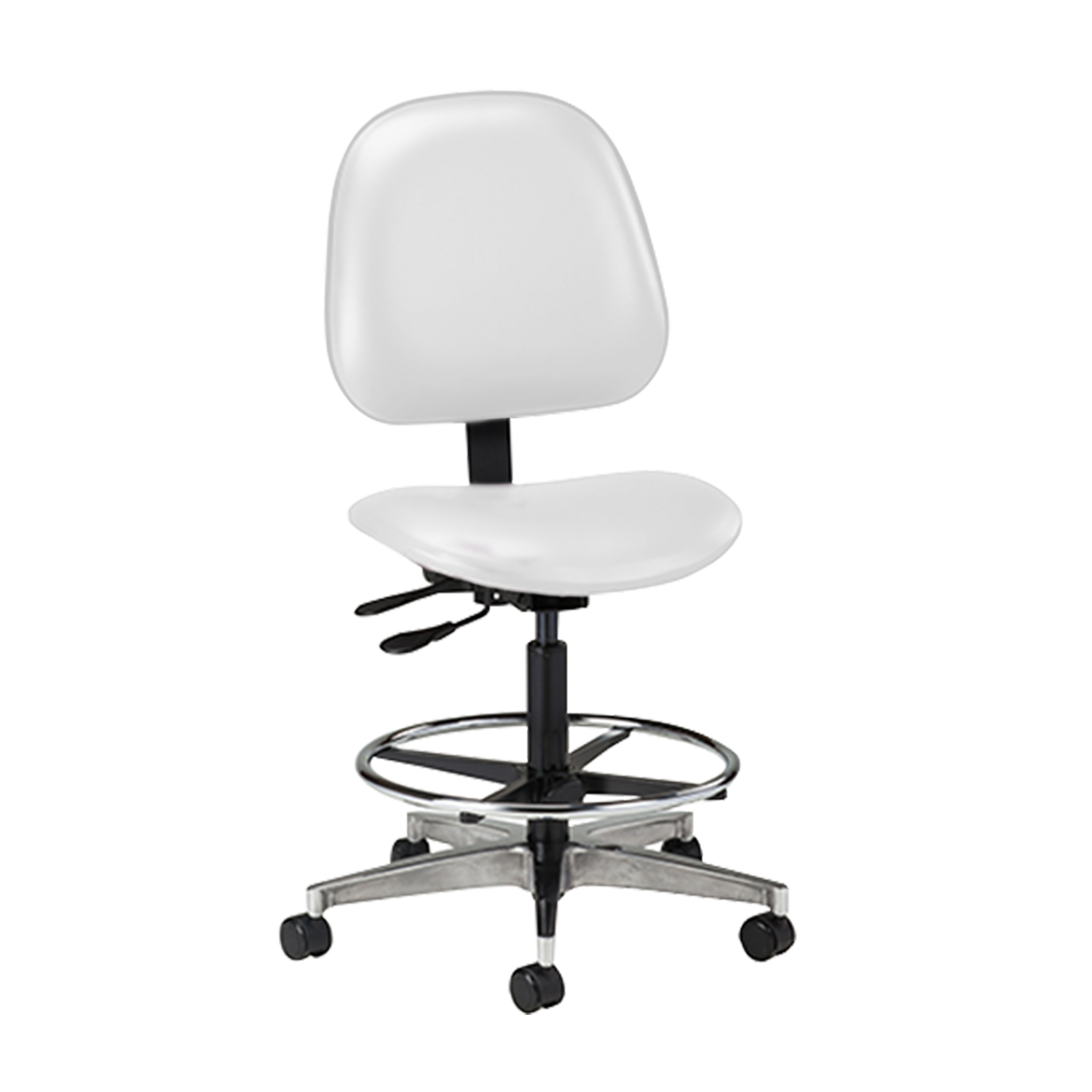 Lab Stool Contour Seat and Backrest