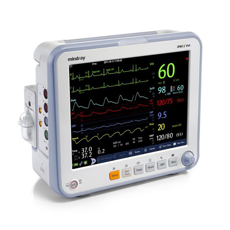Mindray iPM12 Vet Monitor