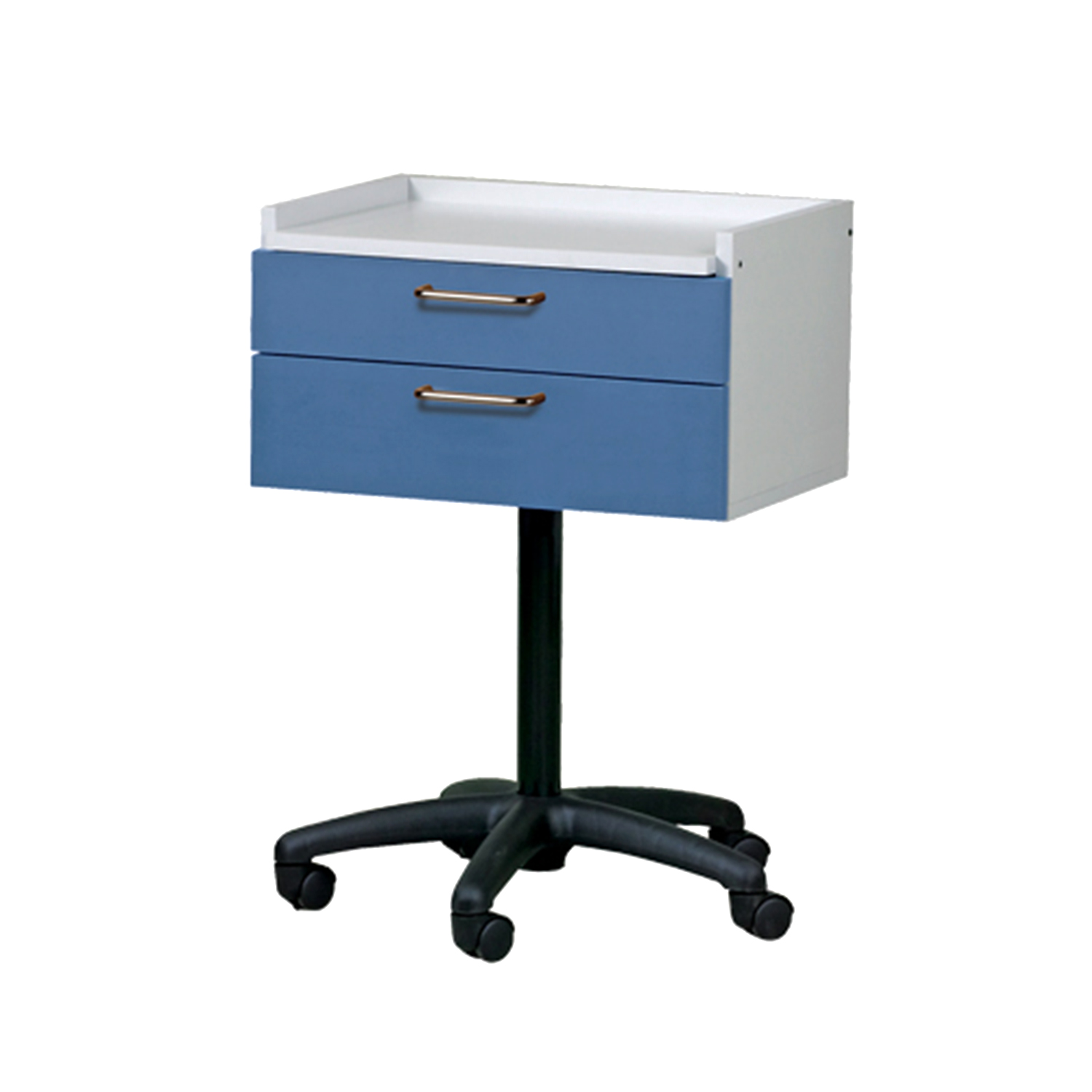 Mobile Equipment Cart with 2 Drawers