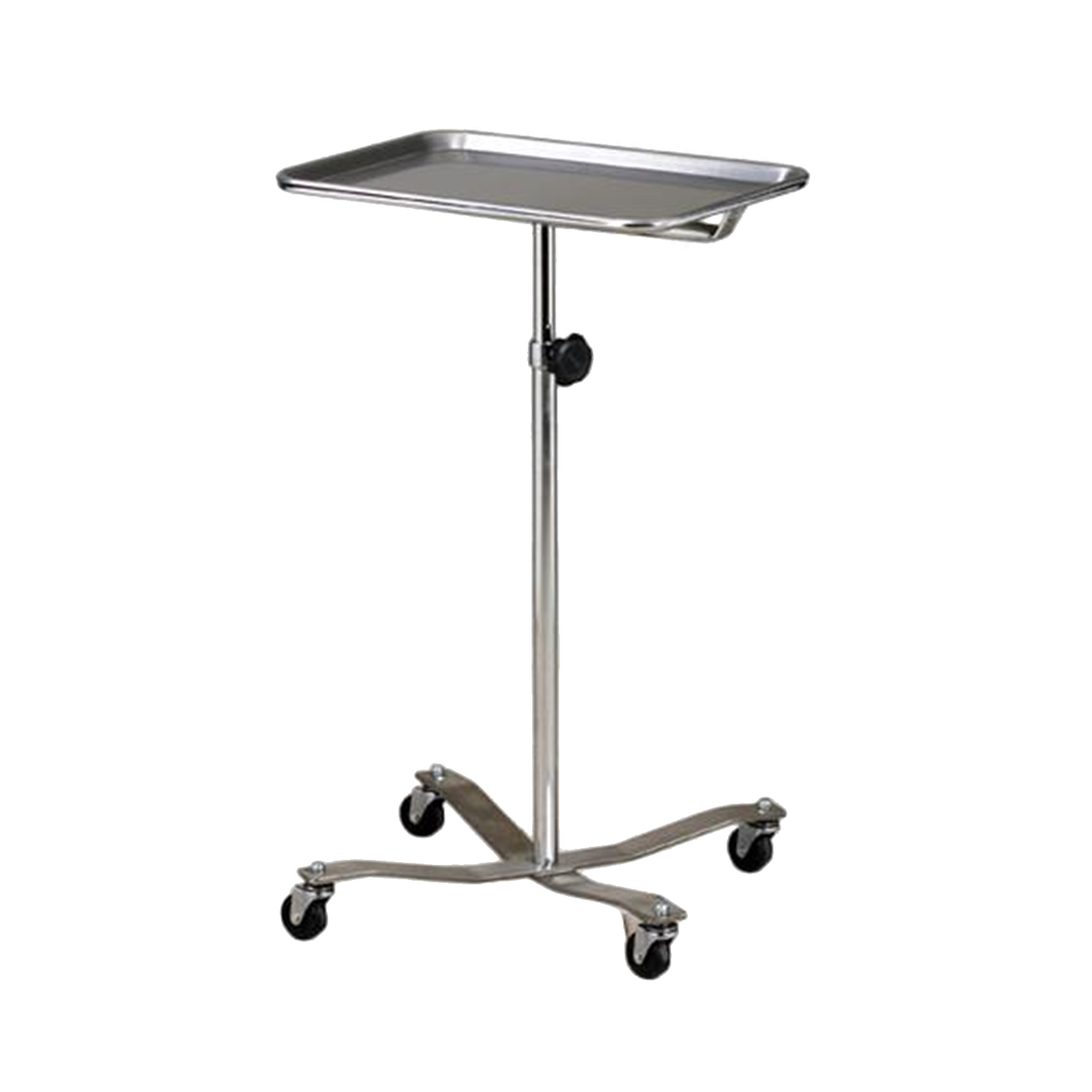 Mobile Stainless Steel Instrument Stand (Ball Bearing Casters)
