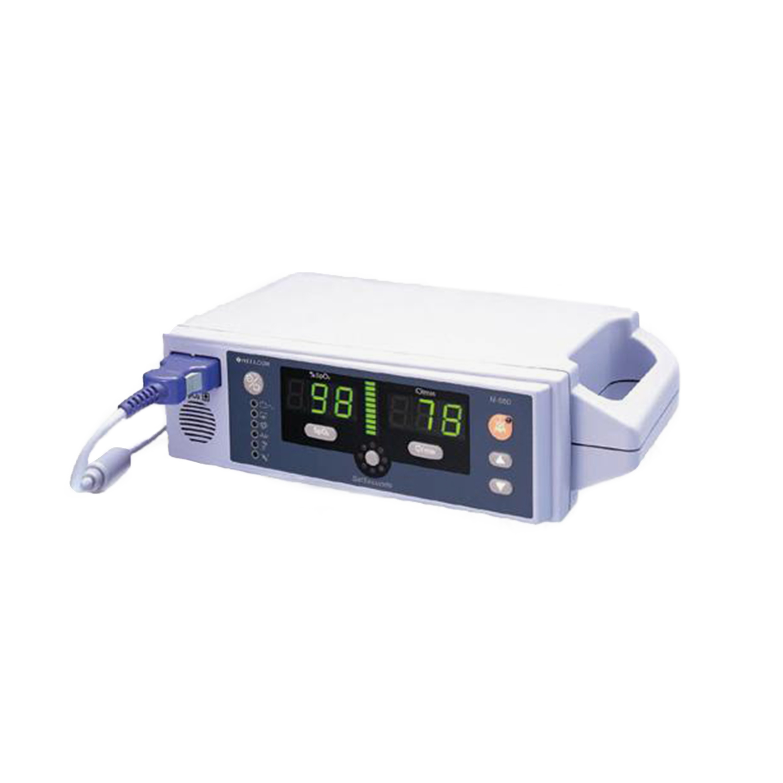 Nellcor N-560 VSat Tabletop/Portable SpO2 Monitor