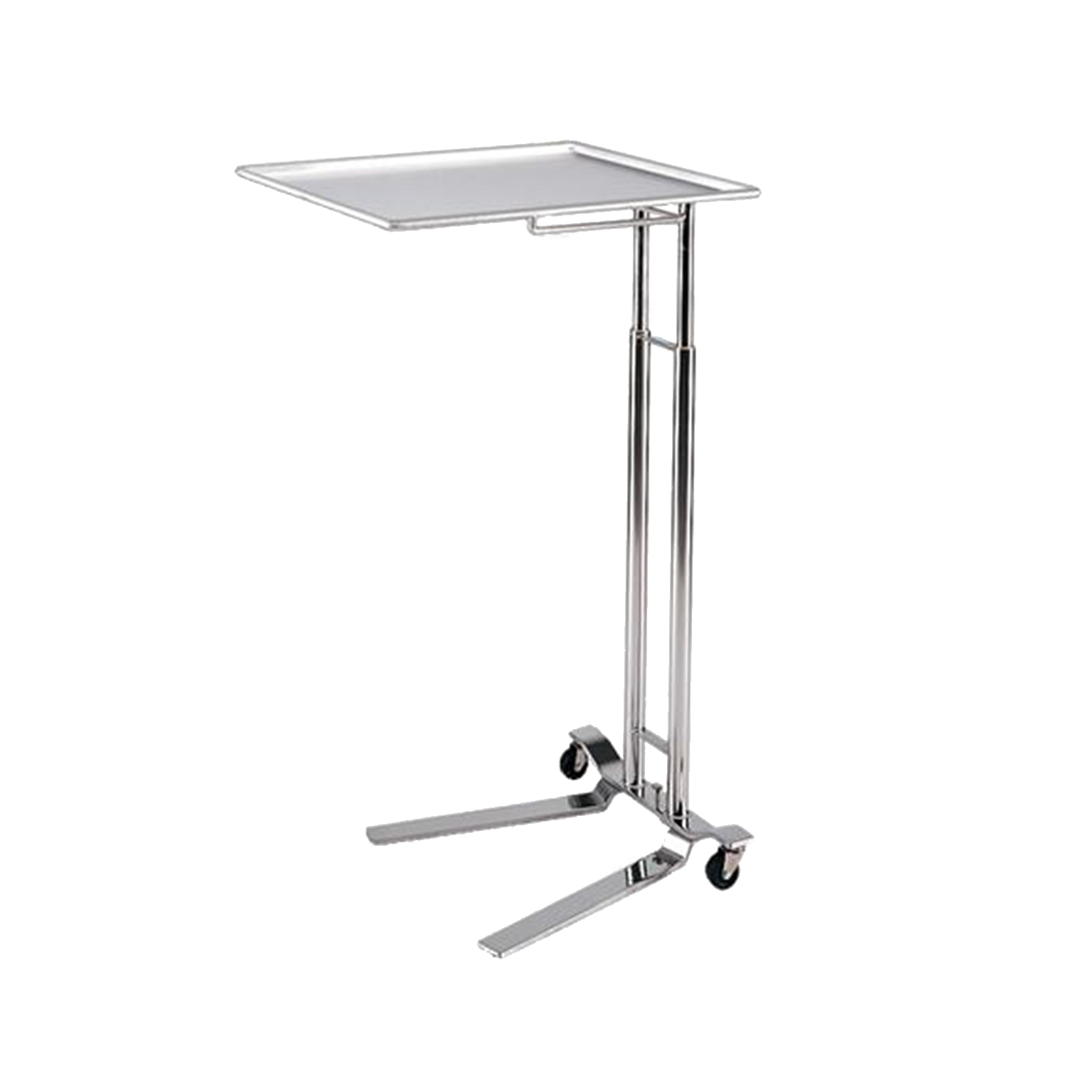 Pedigo 1065 Foot Operated Stainless Steel Mayo Stand