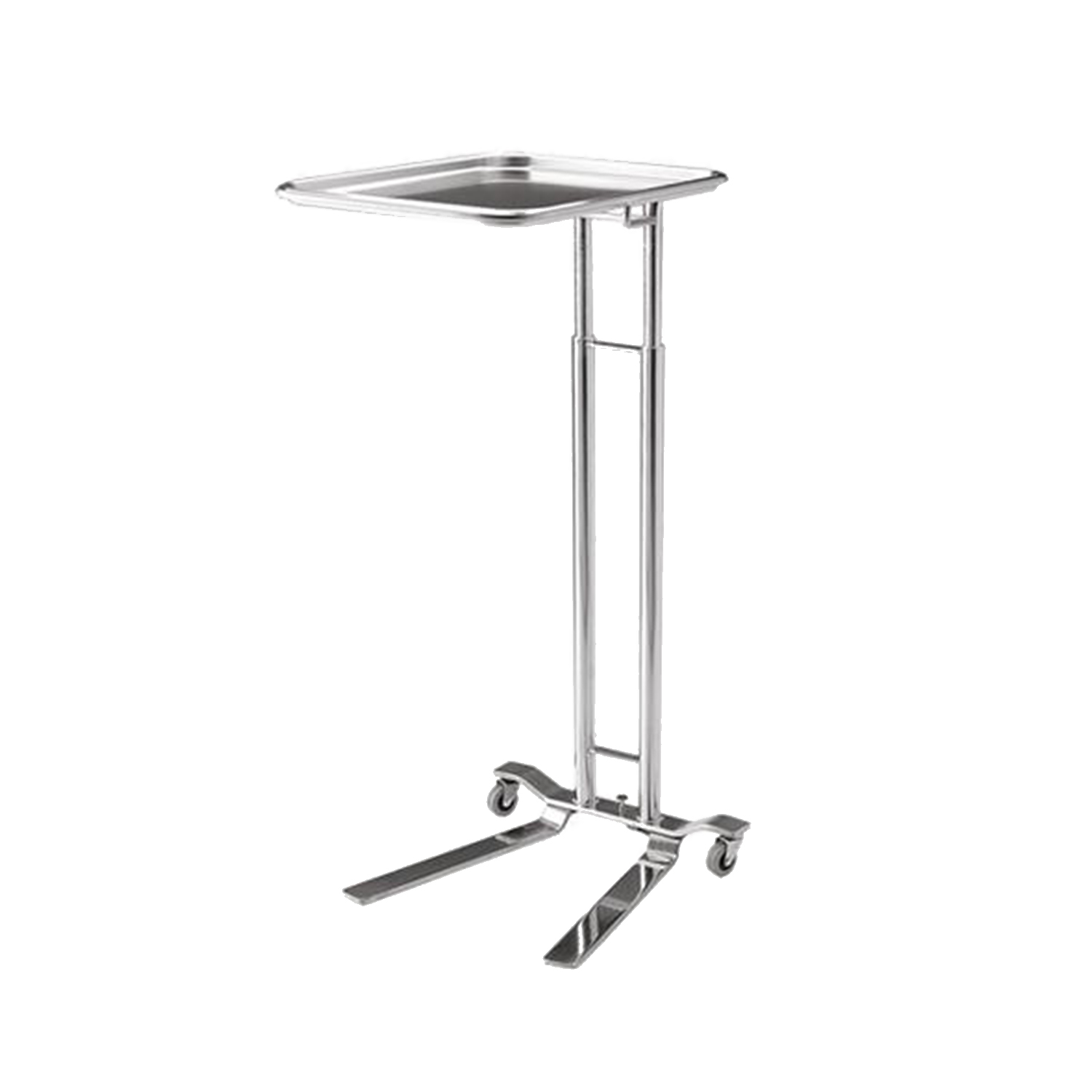 Pedigo 1066 Foot Operated Stainless Steel Mayo Stand