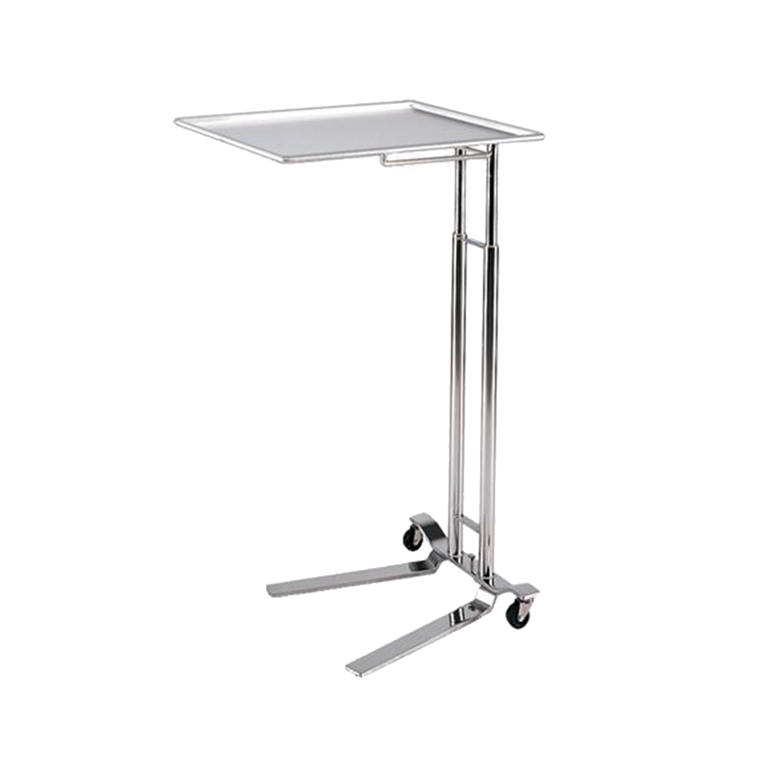 Pedigo 1068 Foot Operated Stainless Steel Mayo Stand