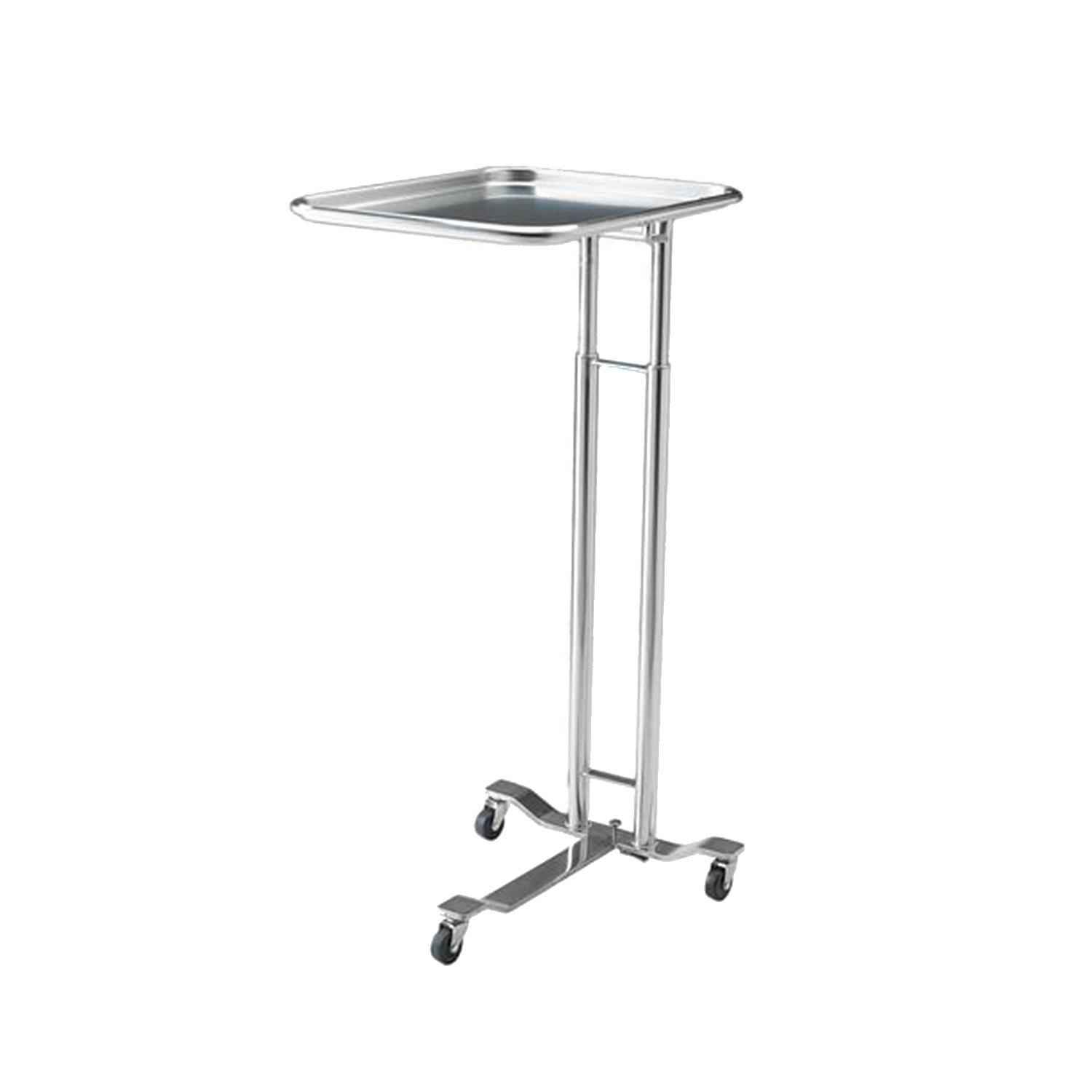 Pedigo 1069 Foot Operated Stainless Steel Mayo Stand