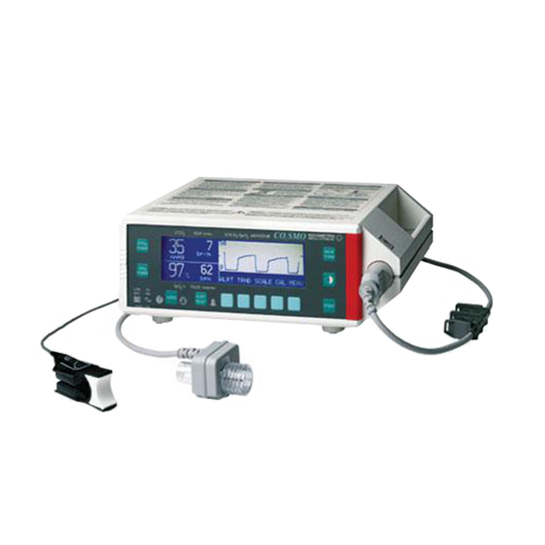Respironics COSMO Pulse Oximeter and CO2 Monitor
