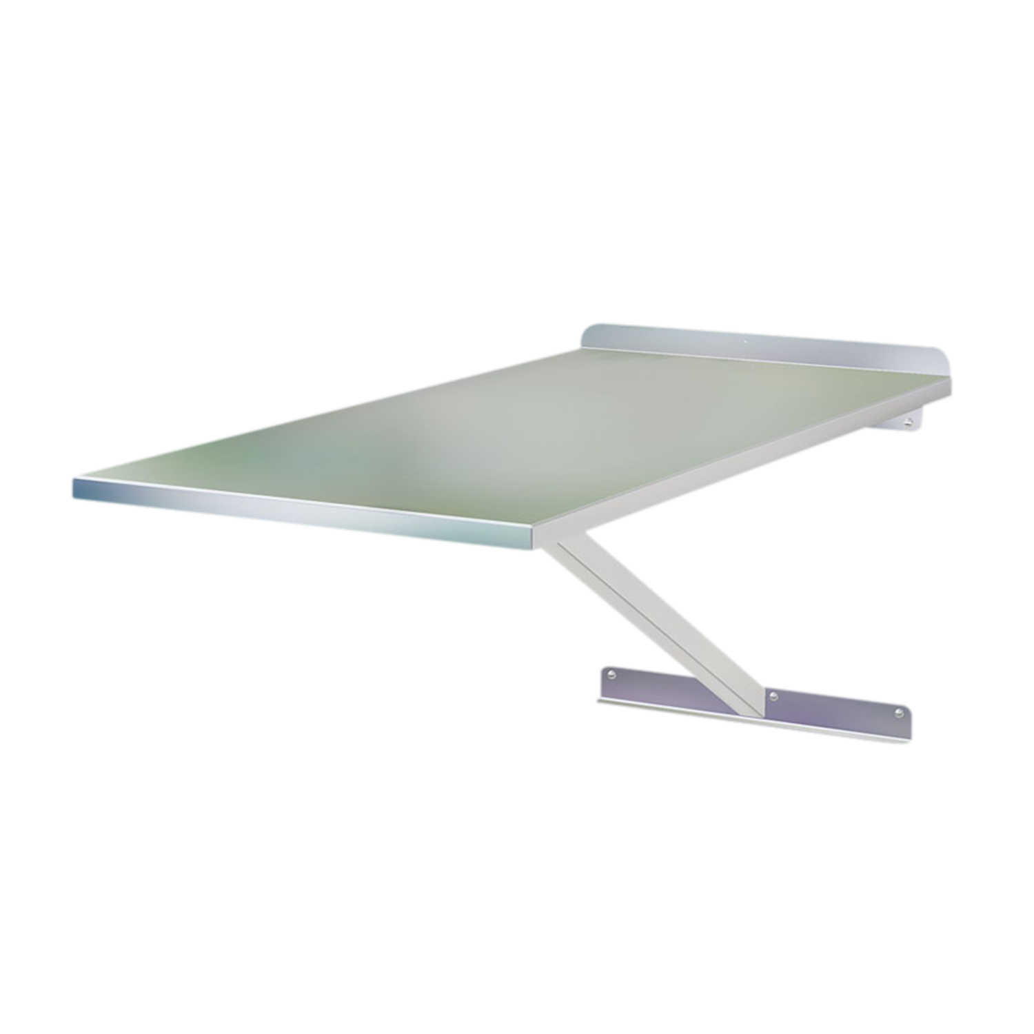 Stainless Steel Classic Wall Mounted Exam Table