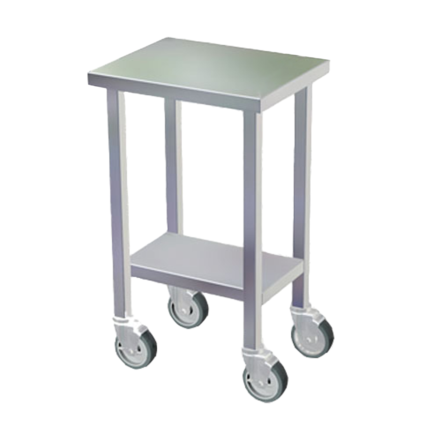 Stainless Steel Mobile Utility Stand