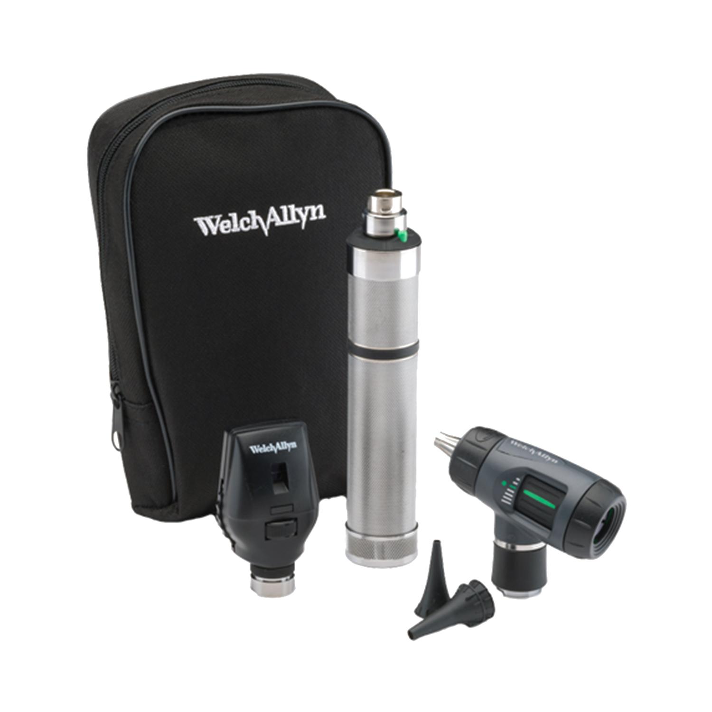 Standard Ophthal, MacroView Oto w/Throat Illuminator, Rechargeable Nickel-Cadmium Handle, Soft Case