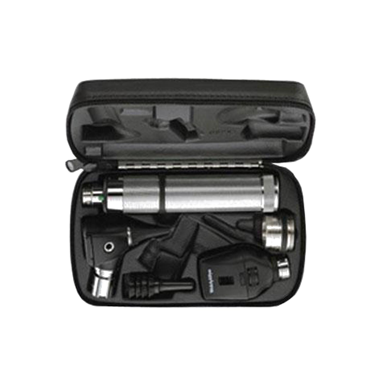 Standard Ophthalmoscope, MacroView Otoscope, Convertible Nickel Cadmium Handle, Hard Case