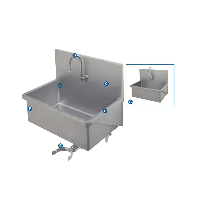 Premium Stainless Steel Scrub Sink