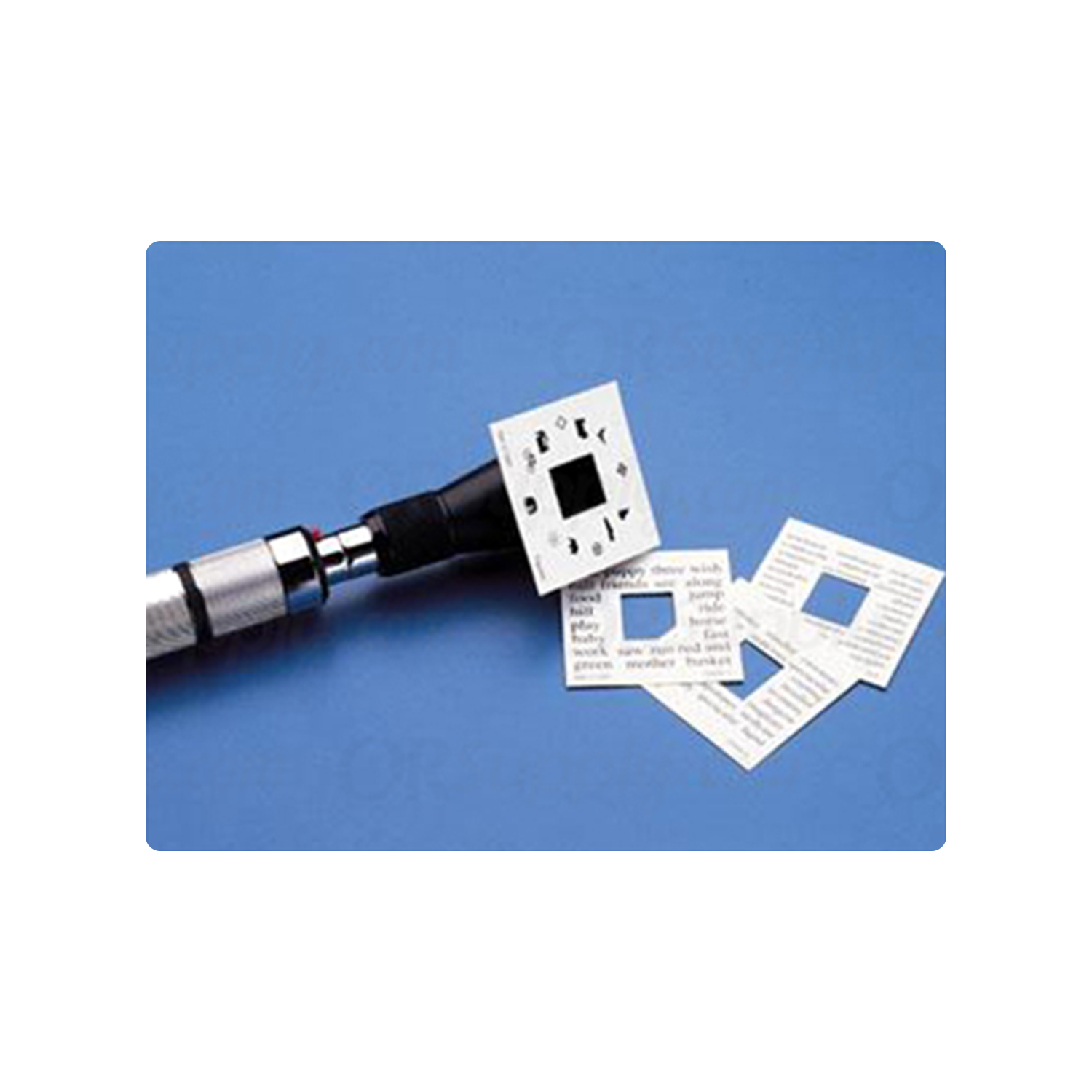 Welch Allyn Fixation Cards