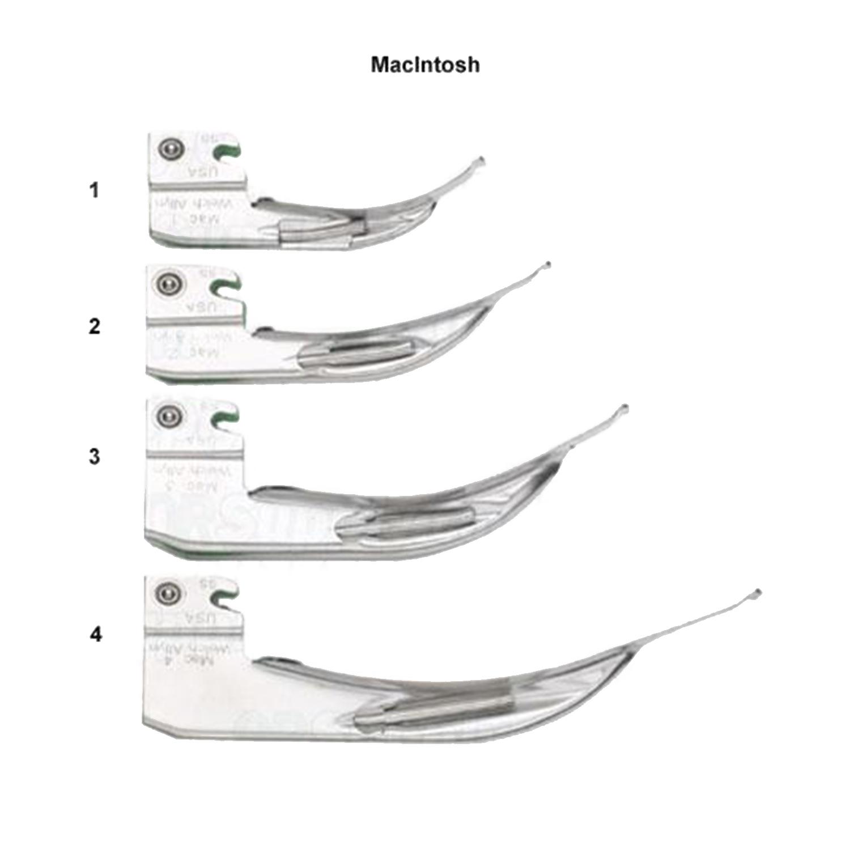 Welch Allyn MacIntosh Fiber Optic Blades