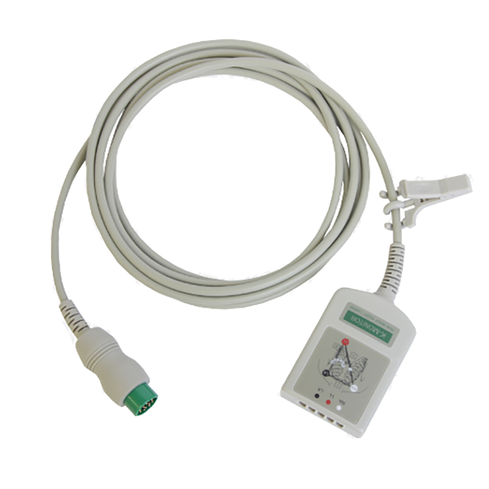 ECG Patient Cable for Waveline Touch, Pro, and EZ