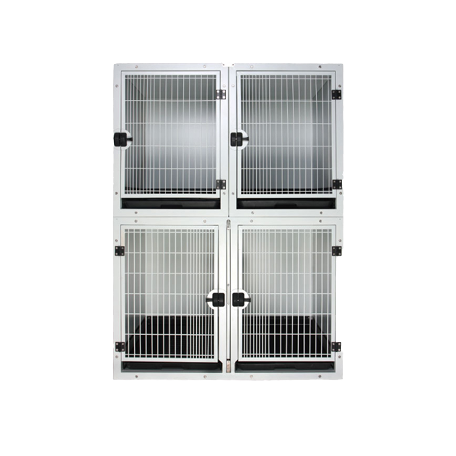 Flat Packing Professional Modular Cage with Solid Walls