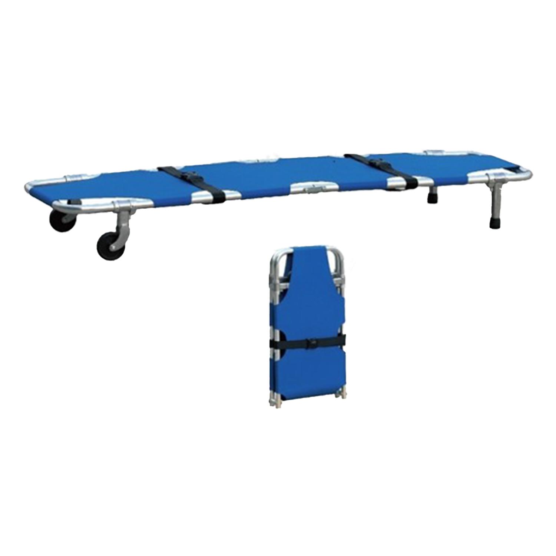 Foldaway Aluminum Stretcher with Wheels