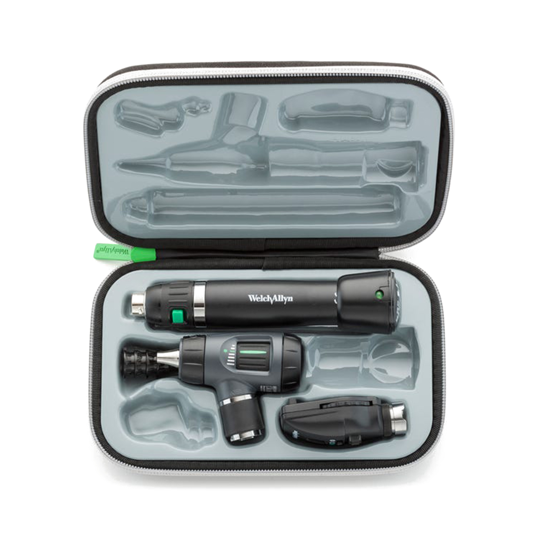 Standard Ophthal, MacroView Oto w/Throat Illuminator, Lithium Ion Handle, Hard Case