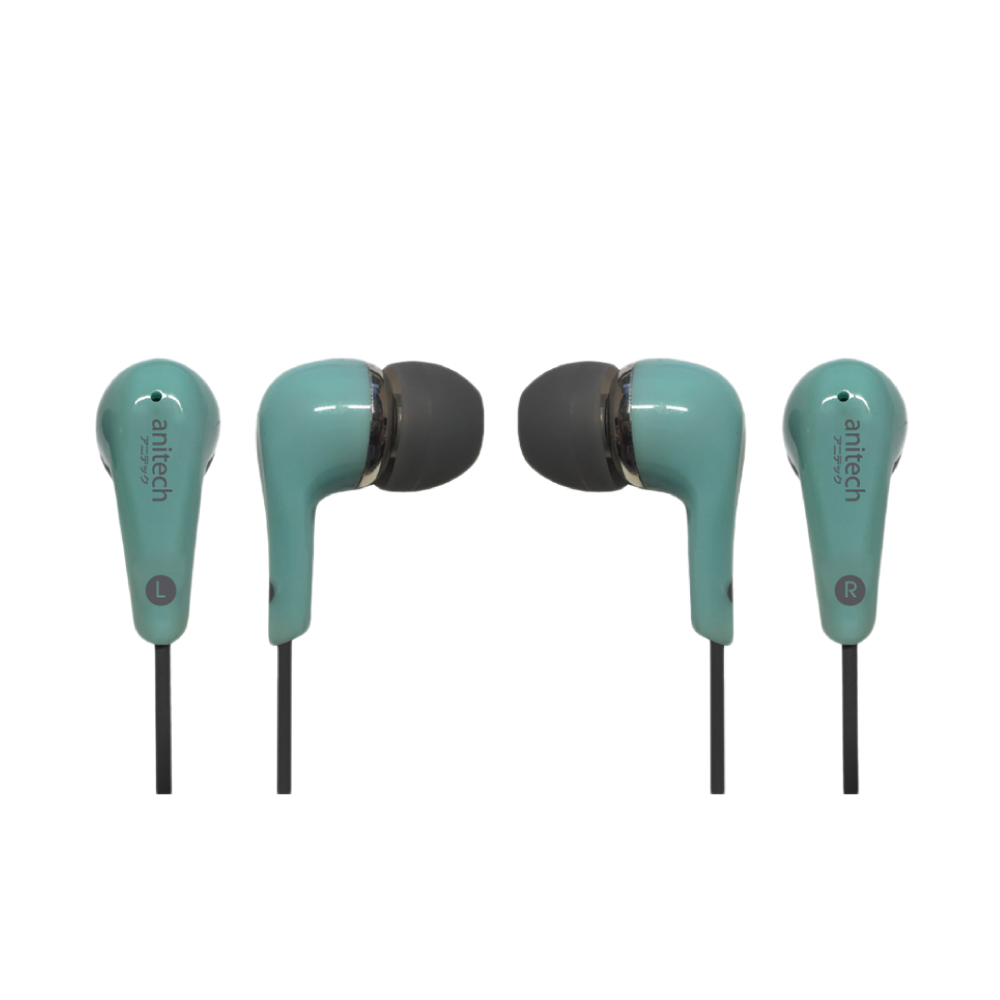 Anitech EarPhone with Microphone EP22-GR