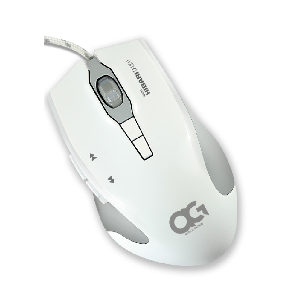 Anitech Gaming Mouse USB Port GM702-WH