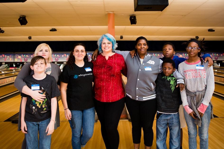 AnswerConnect Meetup at University Bowl group shot