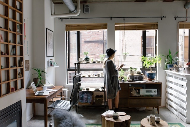the introvert entrepreneur working from home