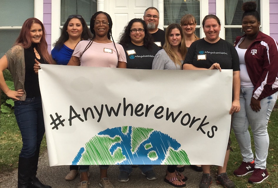 AnswerConnect Volunteer meetup at House of Tiny Treasures in Houston