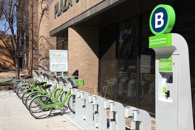 Salt Lake City GREENbike