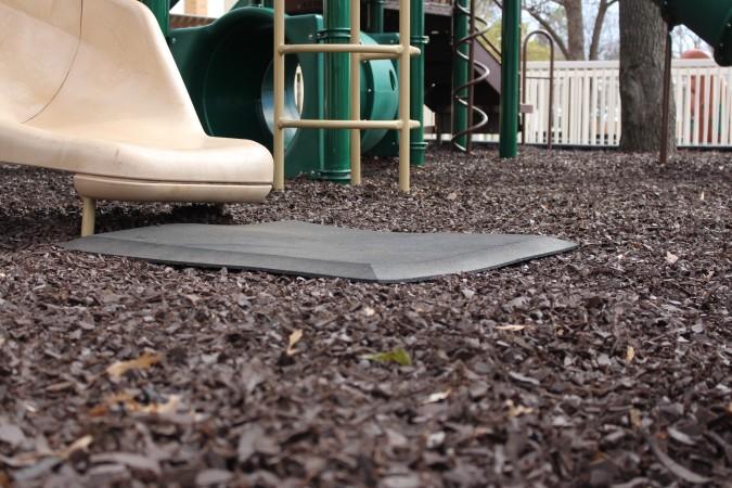 Direct Rubber Mulch from Matt Allison on the playground