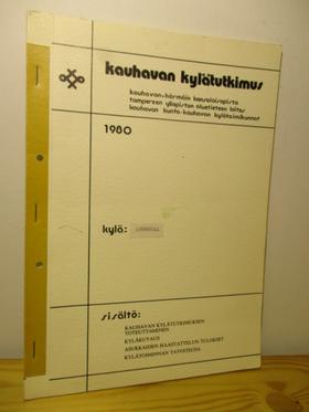 kuva: Kauhavan kylätutkimus 1980 Lummukka