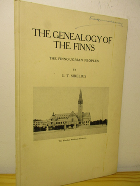 kuva: The Genealogy of the Finns - The Fenno-Ugrian Peoples