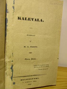 kuva: Kalevala (1841)