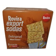 Export Sodas Integral Wheat Soda Crackers Rovira
