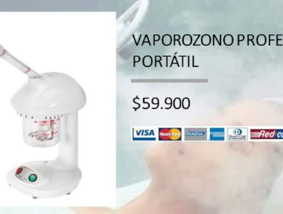 VAPOROZONO PROFESIONAL PORTÁTIL