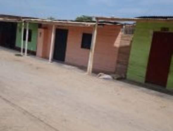 Vendo casa como terreno en Máncora