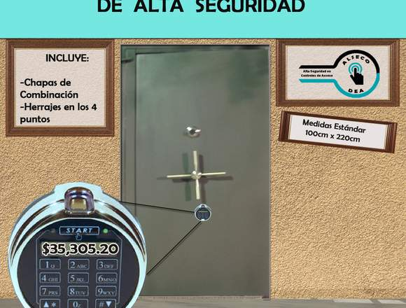 Puerta Blindada para Bóveda