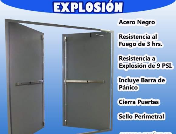 Puerta Doble Contra Explosión