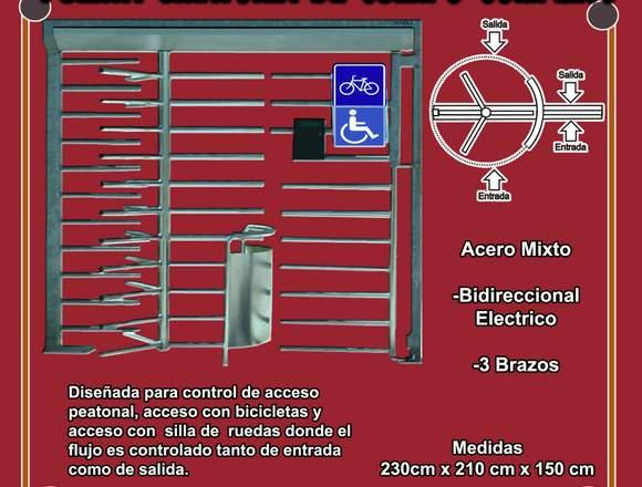 Puerta Giratoria de Cuerpo Completo
