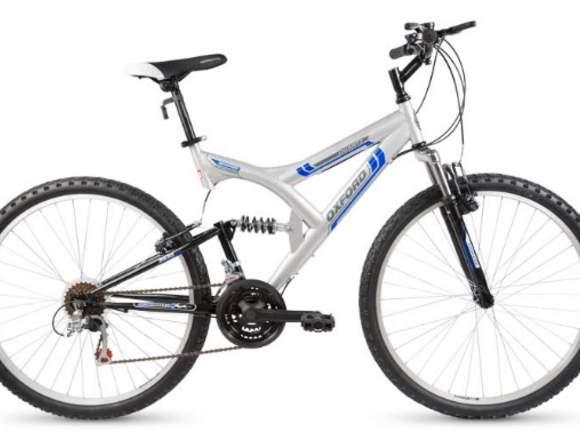 """Bicicleta OXFORD QUARTZ aro 26"""" plata Unisex"""