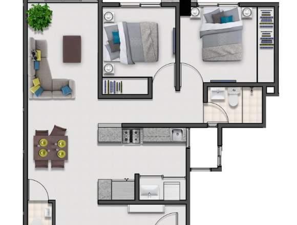 Apartamento en Venta en VIEJO ARROYO HONDO 2H
