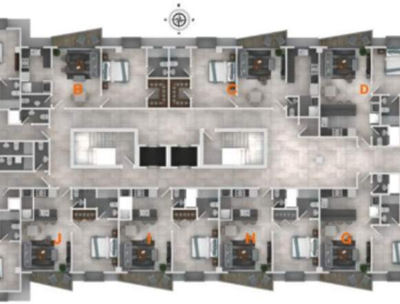 Apartamento en Venta Proyect en ZONA UNIVERSITARIA