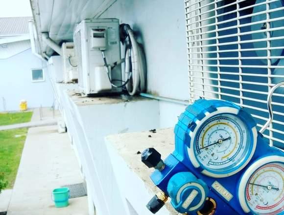 Mantenimiento y reparación de aire acondicionado