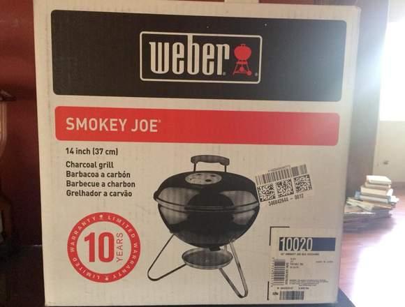 """Vendo Asador NUEVO de carbón Smokey Joe, 14"""""""
