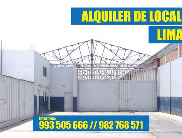 ALQUILER DE LOCAL - INFO AL 993505666 / 982768571