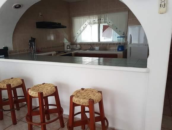 Hermosa casa para vacacionar en Huatulco.
